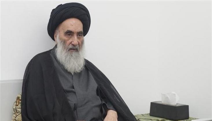 Ayetullah Sistani'den Seçim Açıklaması