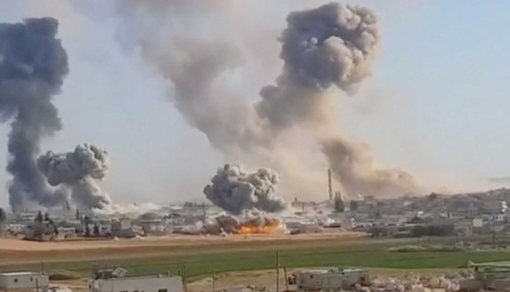 Suriye'nin Kuzeyinde Artan Çatışmalar
