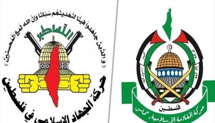'Abbas'ın Gantz ile Görüşmesi Filistin Halkına Arkadan Vurulmuş Bir Hançerdir'