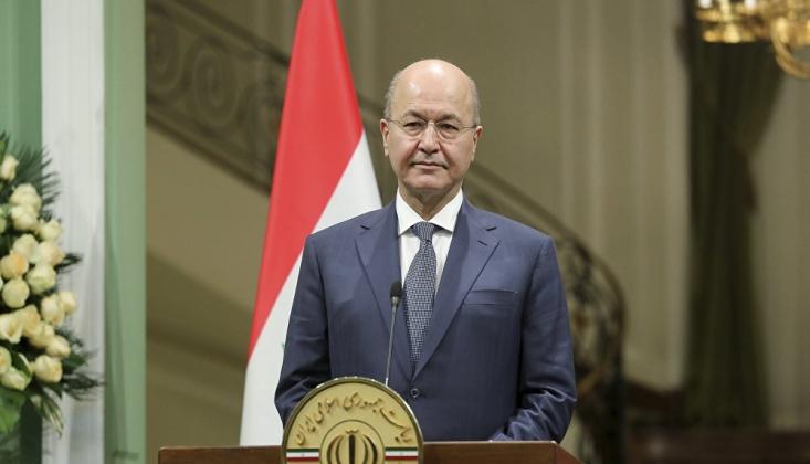 Irak Cumhurbaşkanı'ndan ABD'nin Müdahaleci Açıklamasına Tepki