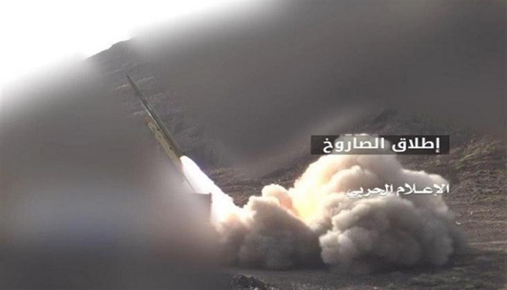 İşgalci Suudilere Zilzal Füzesi ile Saldırı