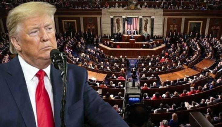 ABD Temsilciler Meclisi Trump'a Yönelik Azil Maddelerini Onayladı