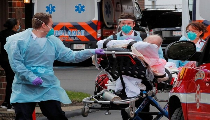 ABD'de Koronavirüsten Ölenlerin Sayısı 516 Bini Geçti