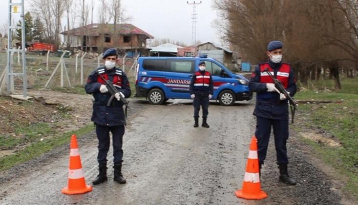 4 İlde 8 Köy Karantinaya Alındı
