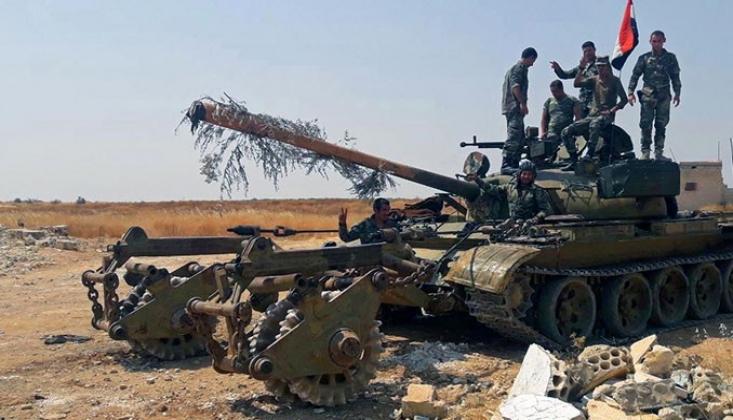 Hama'nın Kuzeyi ve İdlib'in Güneyi Teröristlerden Temizlendi