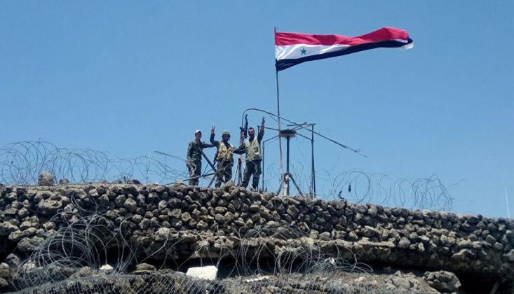 Suriye Ordusu Bomba Yüklü İHA'yı Düşürdü