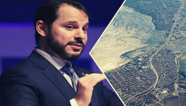 Berat Albayrak'ın Kanal İstanbul'da Arazisi Çıktı