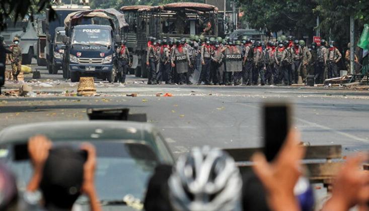 Myanmar'da Etnik Silahlı Grup Ordu İle Çatıştı