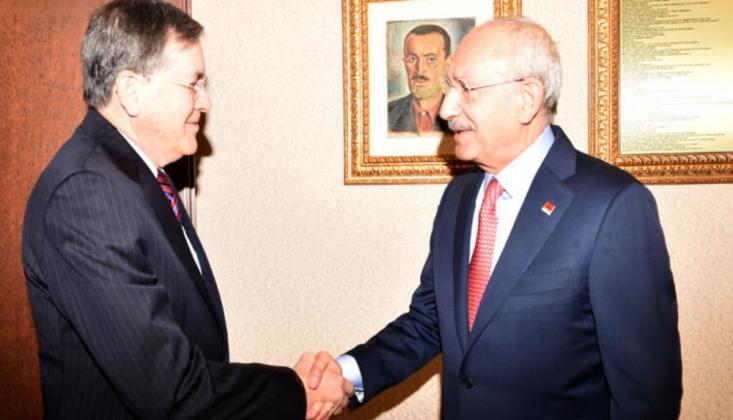 Kılıçdaroğlu, ABD'nin Ankara Büyükelçisi Satterfield'i Kabul Etti