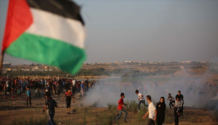 Gazze'de Bir Filistin'li Daha Şehit Edildi