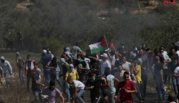 Siyonist Saldırıda 20 Filistinli Yaralandı