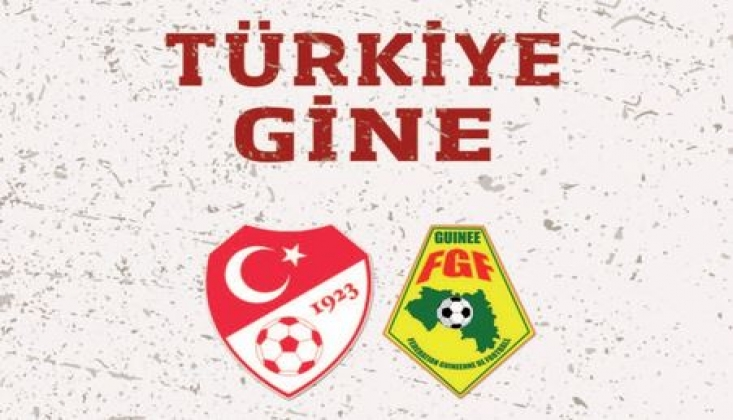 Türkiye - Gine Muhtemel 11'ler