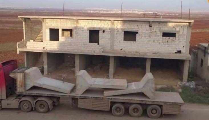 TSK Suriye'deki Son Gözlem Noktasından Çekildi