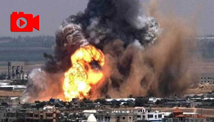 İşgalci Siyonist İsrail Gazze'ye Nükleer Bomba mı Attı?