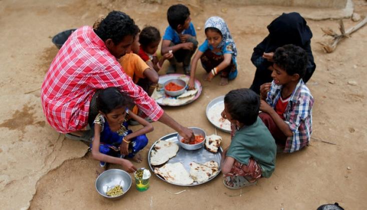 Suudi İşgali Devam Ediyor; Yemen Açlıkla Karşı Karşıya