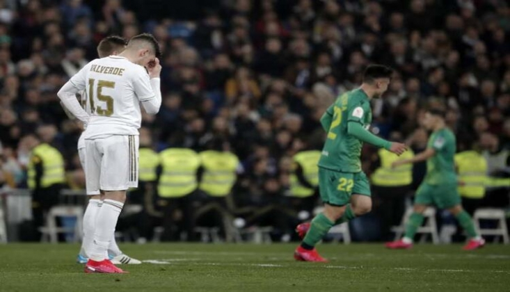 Real Madrid Kupaya Veda Etti