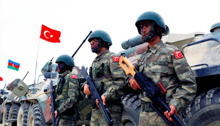 Türkiye ile Azerbaycan Hava Kuvvetlerinden Ortak Tatbikat
