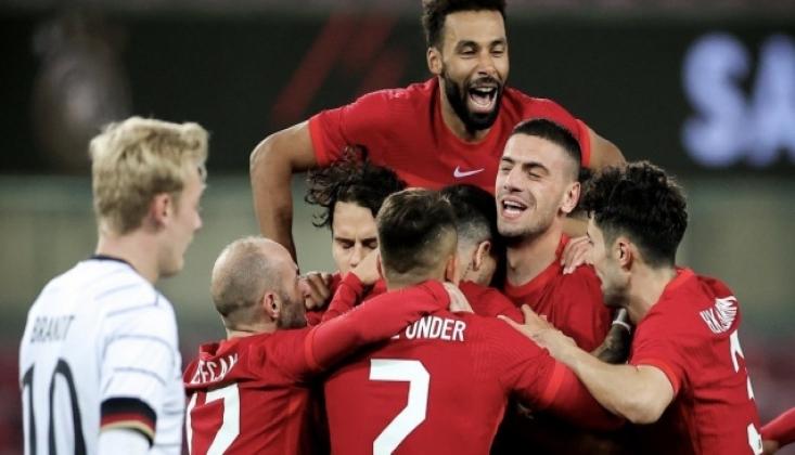 Türkiye A Milli Futbol Takımı, Deplasmanda Almanya ile 3-3 Berabere Kaldı