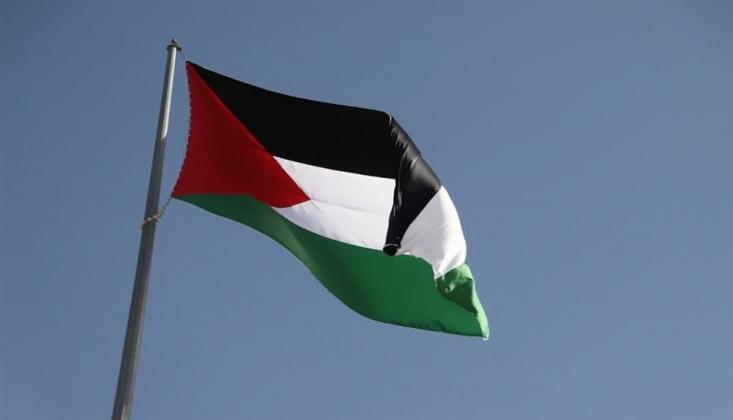 ABD'de Filistin Bayrağı Dalgalanıyor
