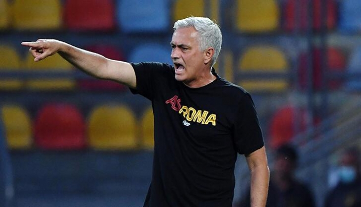 Jose Mourinho, Roma'yı Şahlandırdı