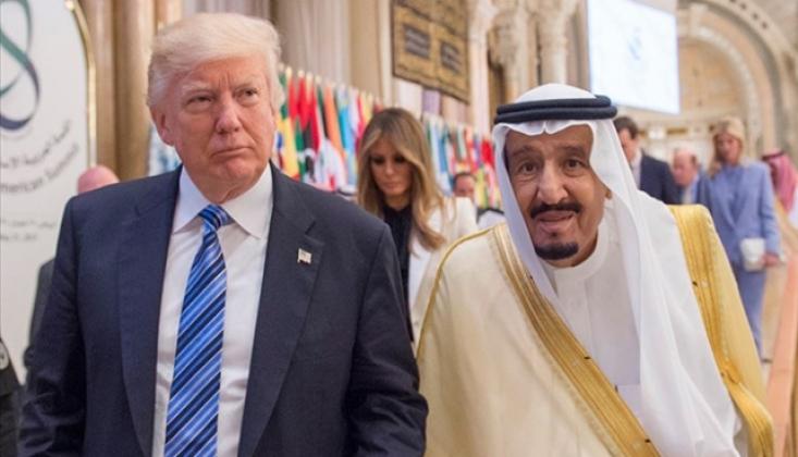 Trump ve Kral Selman Görüştü