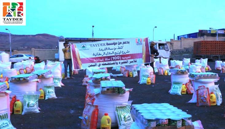 Yardımlar Yemenli İhtiyaç Sahiplerine Ulaştı