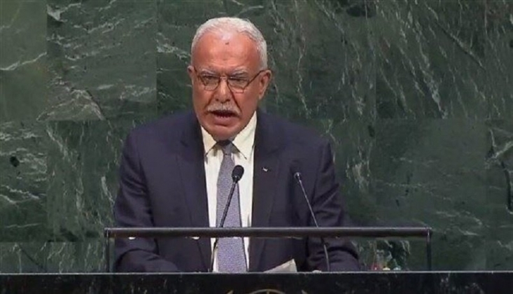 Filistin: Siyonist Rejime Yaptırım Uygulanmasını İstedi