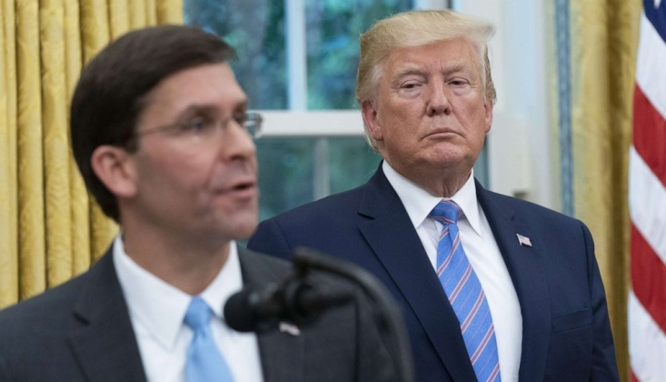 Trump ve Pentagon'dan Koronavirüs Konusunda Çelişkili Açıklama