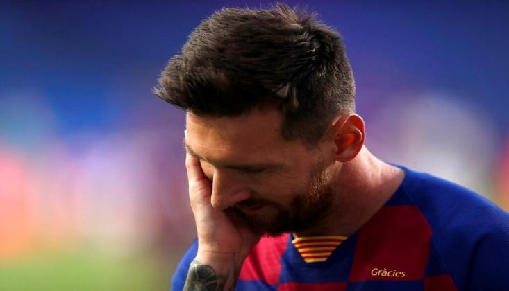 Barcelona'da Lionel Messi Depremi!
