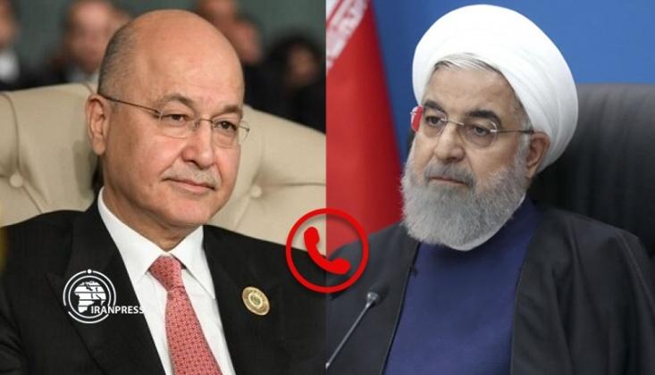 Ruhani Irak Cumhurbaşkanı ile Görüştü