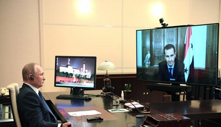 Putin, Esad İle Görüştü
