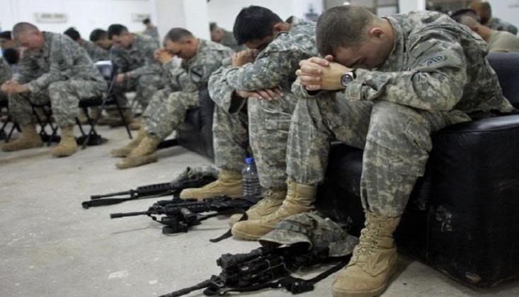 Uluslararası Terör Devleti ABD Ordusunda İntihar Furyası