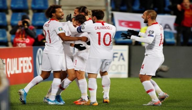 Milli Takım Andorra'da Kazanarak Bitirdi!