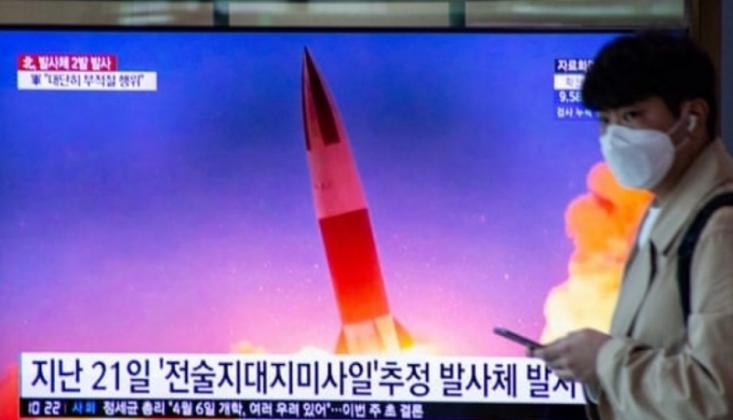 Kuzey Kore İki Yeni Füze Denedi