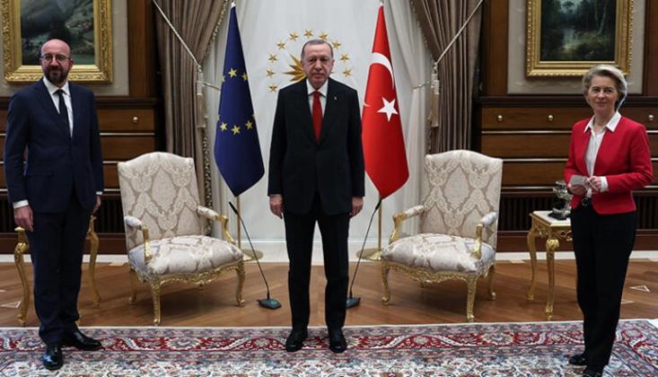 Erdoğan'la Görüşen AB Heyetinden Açıklama