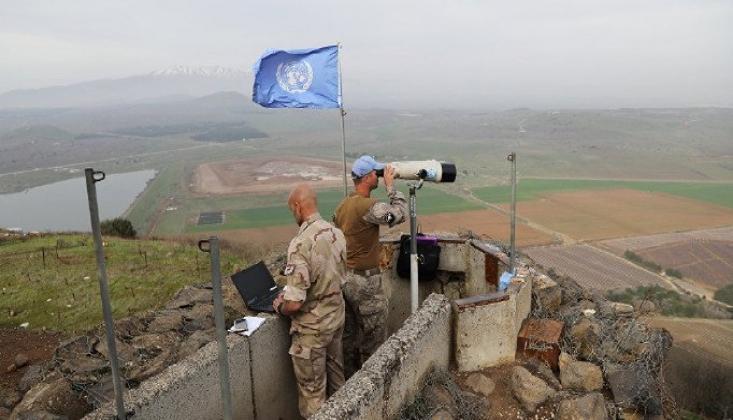 Birleşmiş Milletlerden Golan Kararı