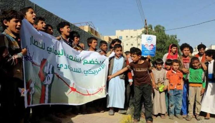 Yemenli Çocukların BM Protestosu Üzerine