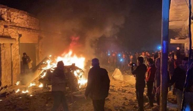 Azez'de Terör Saldırısı! /Video