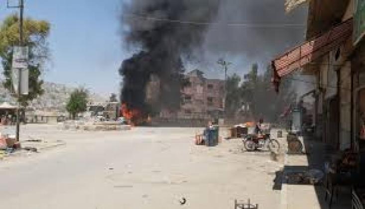 Dera'da Bombalı Saldırı