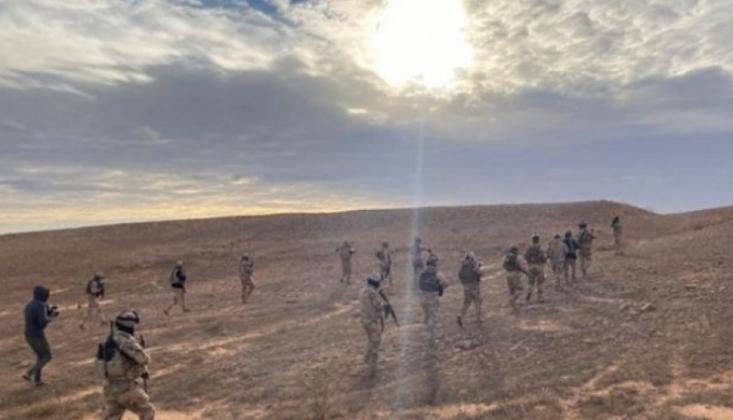 Haşdi Şabi ve Irak Ordusundan Ortak Operasyon