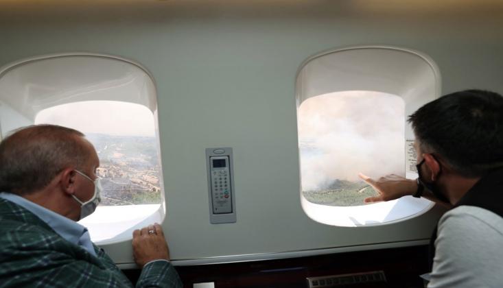 'Yangın Söndürme Uçağı Yok Ama Uçan Saray Var'