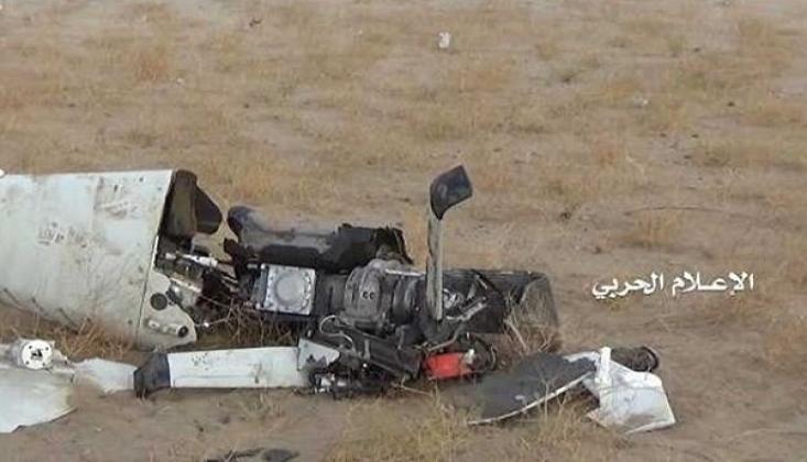 Suudi Koalisyonuna Ait Casus Uçağı Düşürdü