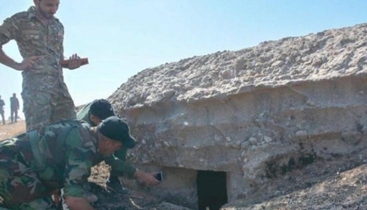Irak'ta IŞİD Sığınakları İmha Edildi