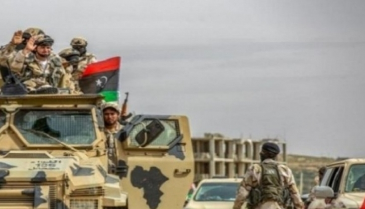 Mısır'dan Hafter'e Askeri Mühimmat Yardımı