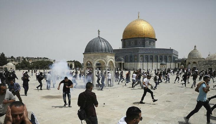 Hamas, Filistinlilere Mescid-i Aksa'ya Gitmeleri Çağrısında Bulundu