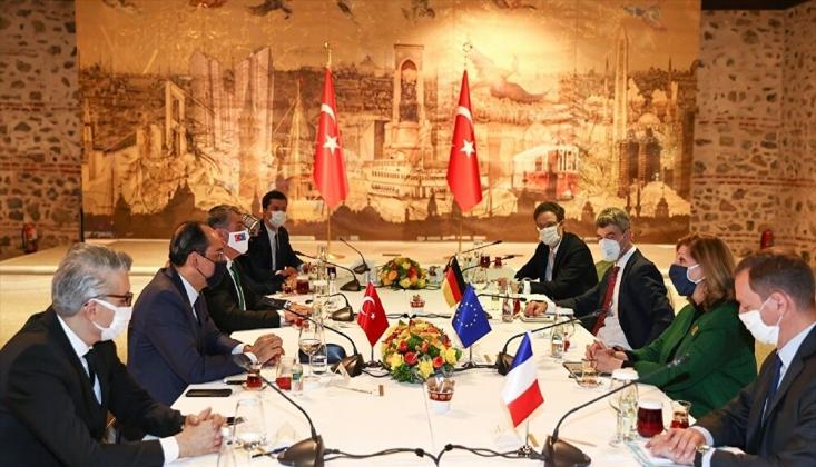 Kalın, AB Liderlerinin Dış Politika Başdanışmanları İle Görüştü