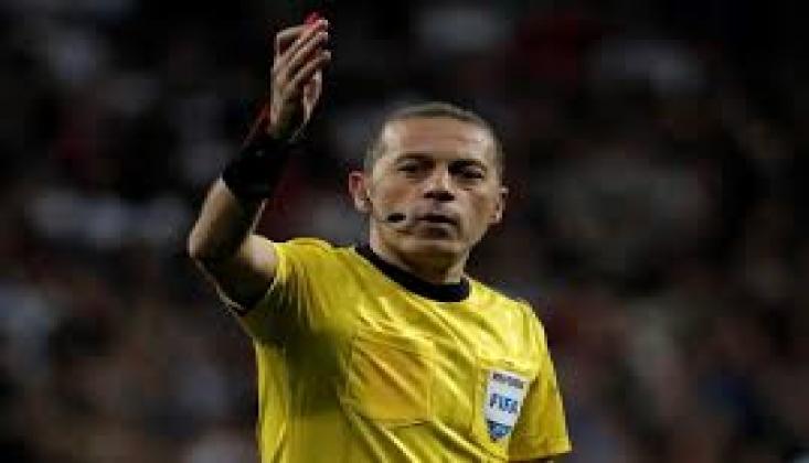 Cüneyt Çakır'a Dünya Kupası Elemeleri'nde Görev