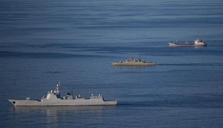 İran-Rusya Ortak Deniz Tatbikatı Başladı