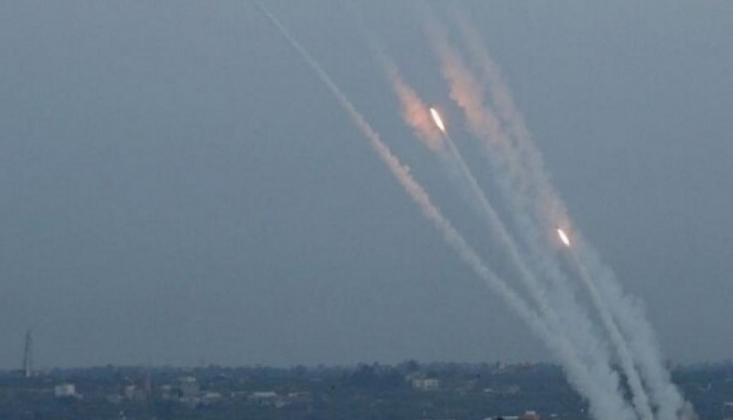 Gazze'den Roket Fırlatıldı