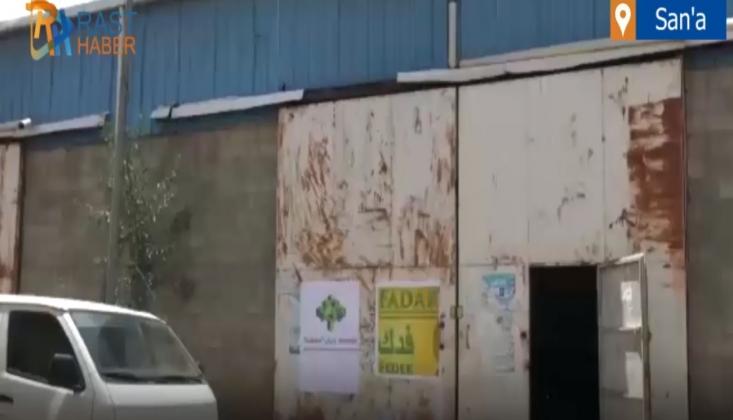 Fedek San'a'da Ekmek Fabrikası Kurdu / Video